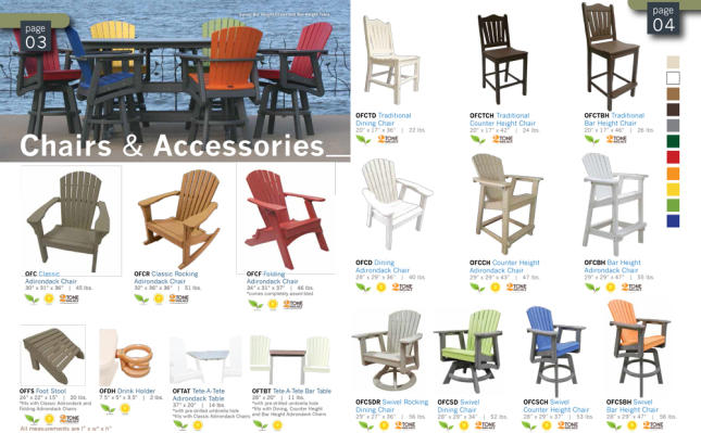 chairs outdoor recycled patio furniture