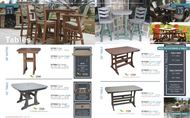 tables recycled outdoor patio furniture